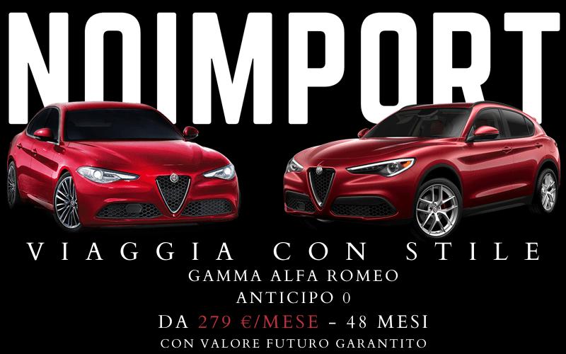 gamma Alfa Romeo a km0
