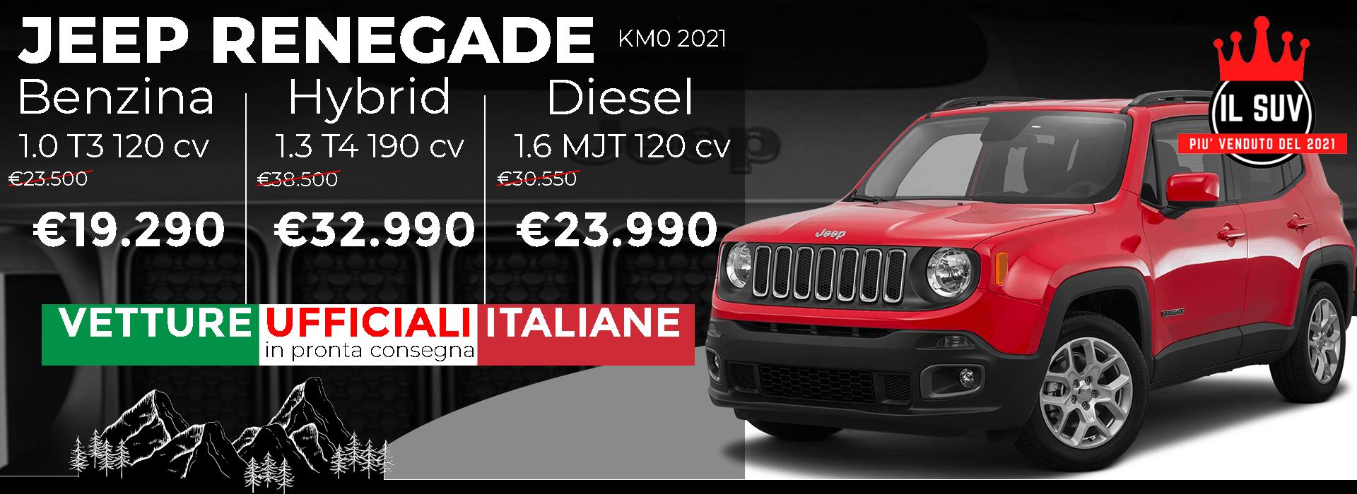 Jeep Renegade KM0