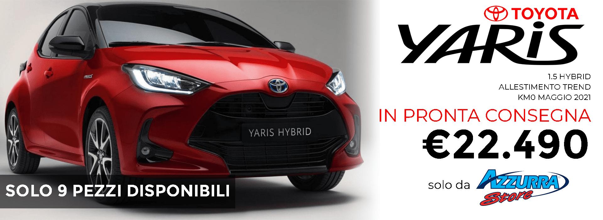 Toyota Yaris Hybrid 2021 KM0